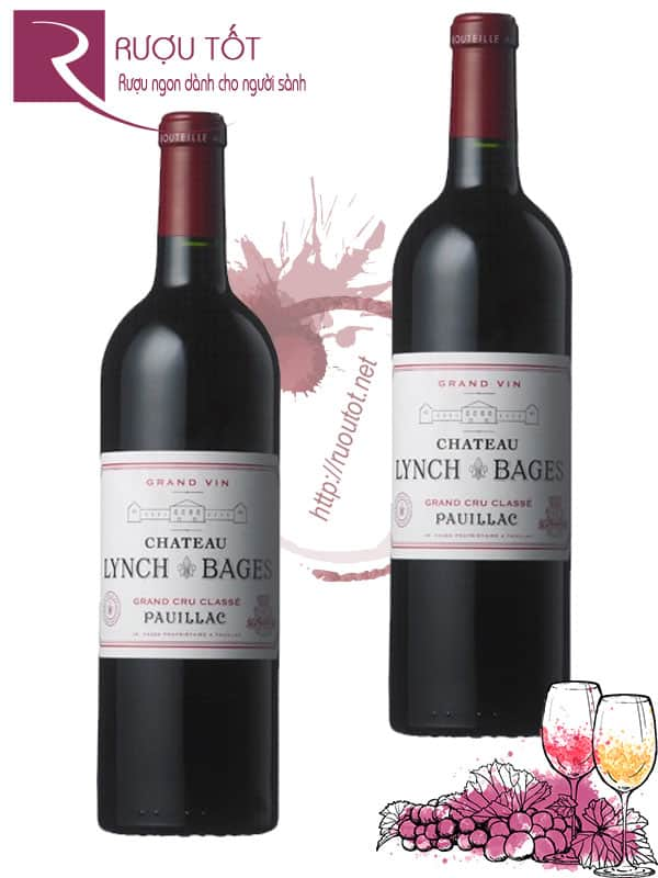 Vang Pháp Chateau Lynch Bages Pauillac