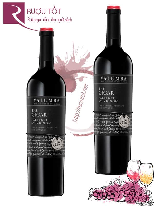 Vang Úc Yalumba The Cigar Cabernet Sauvignon