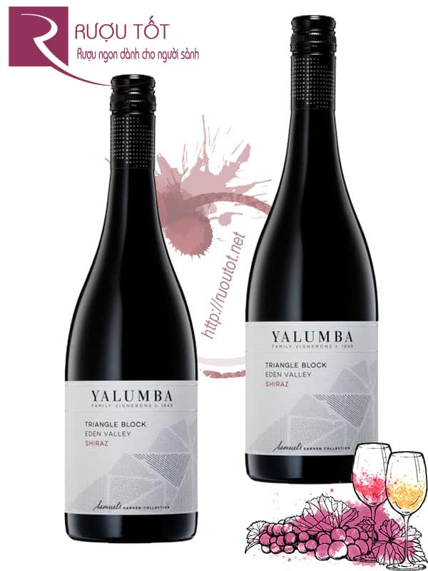 Vang Úc Yalumba Triangle Block Shiraz Viognier