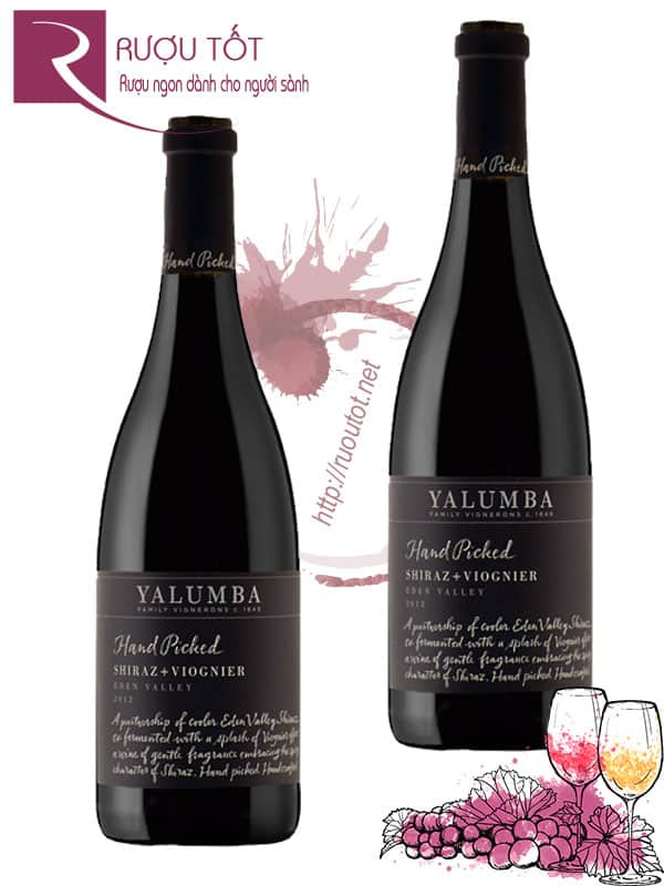 Vang Úc Yalumba Hand Picked Shiraz Viognier