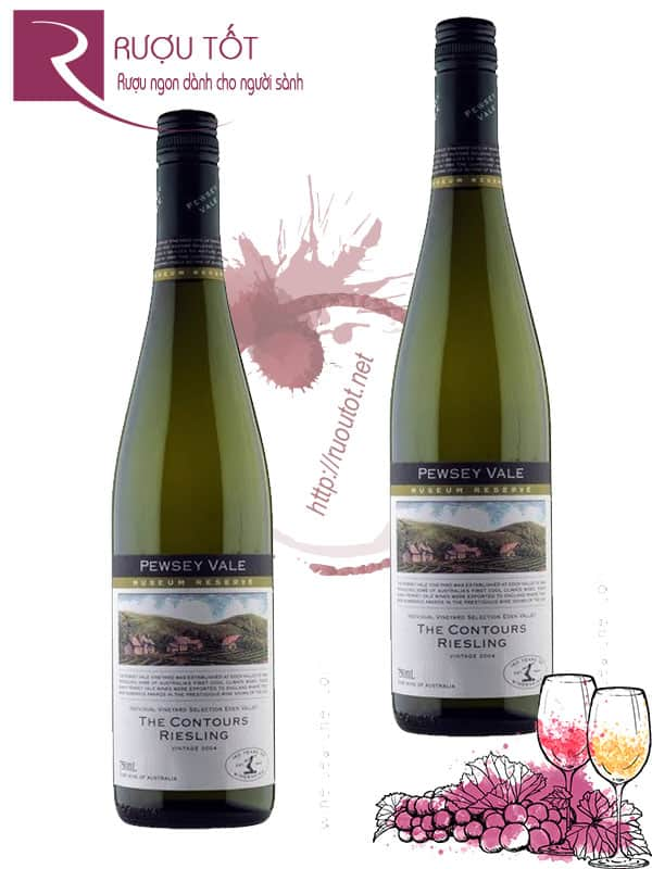 Rượu vang Pewsey Vale The Contours Museum Release Riesling