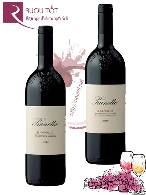 Vang Ý Prunotto Barolo 750ml