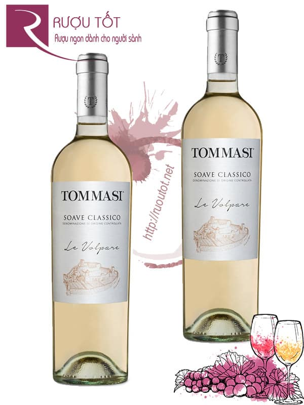 Vang Ý Tommasi Le Volpare Soave Classico
