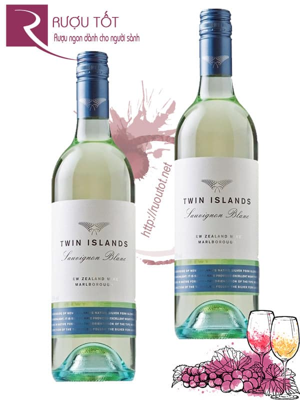 Vang New Zealand Twin Islands Sauvignon Blanc