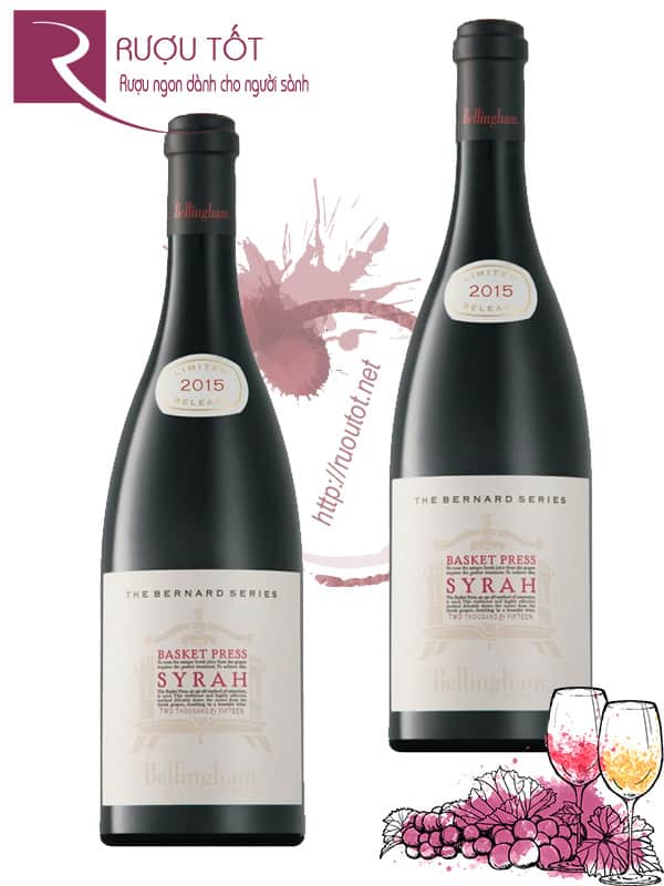 Vang Nam Phi Bernard Series Basket Press Syrah