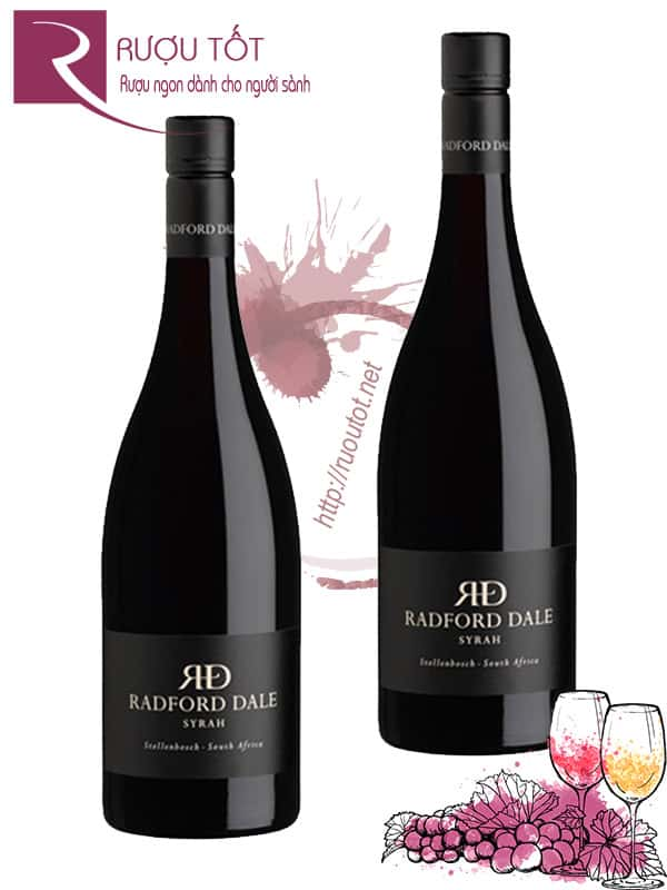 Vang Nam Phi The Winery of Good Hope Radford Dale Syrah