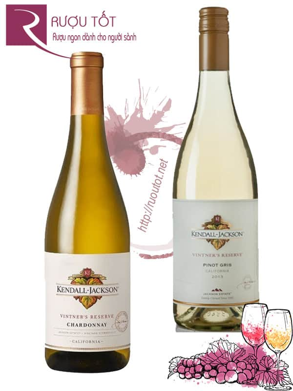 Vang Mỹ Kendall Jackson Vintners Reserve White Thượng hạng