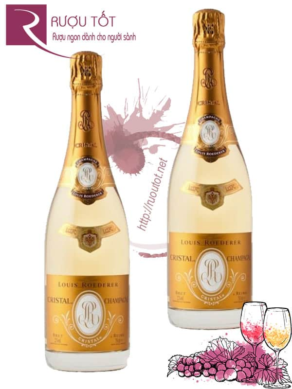 Champagne Pháp Louis Roederer Cristal Cao cấp