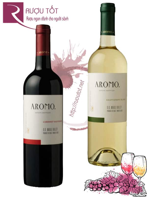 Vang Chile Aromo Classico (Red – White)