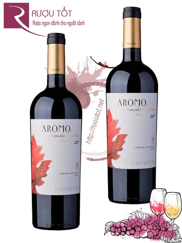 Vang Chile Aromo Winemakers Selection Cao cấp
