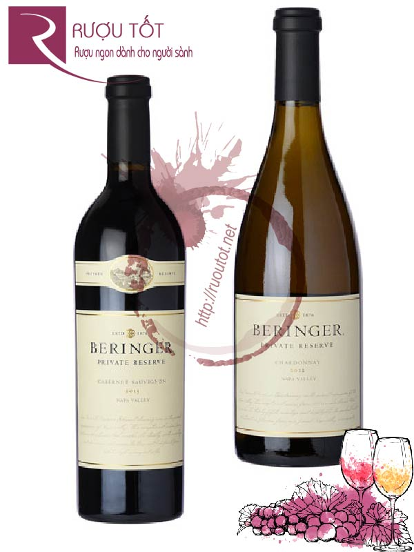 Rượu vang Beringer Private Reserve (Red - White)