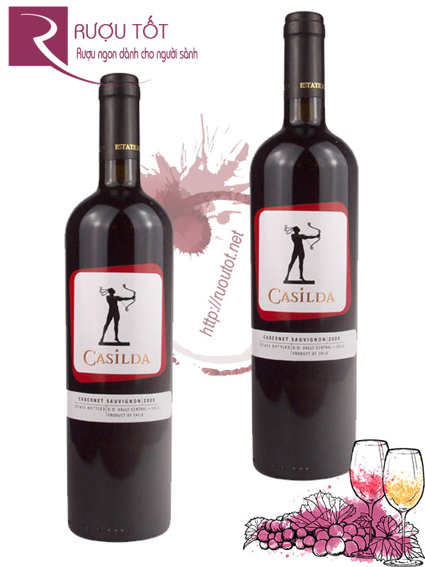 Vang Chile Casilda Cabernet Sauvignon Valle Central Thượng hạng