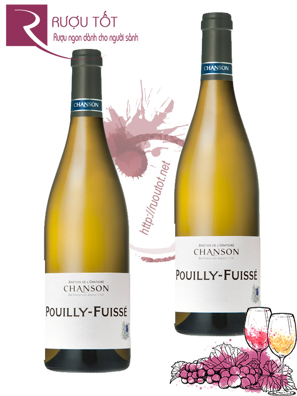 Vang Pháp Pouilly Fuisse Chanson Thượng hạng