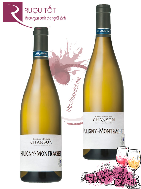 Vang Pháp Puligny Montrachet Chanson Cao cấp