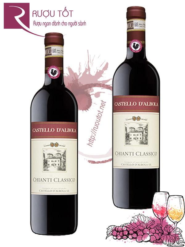 Vang Ý Chianti Classico Castello dAlbola Tuscany Thượng hạng