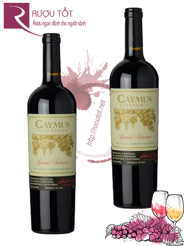 Vang Mỹ Caymus Special Selection 2012 - 2009