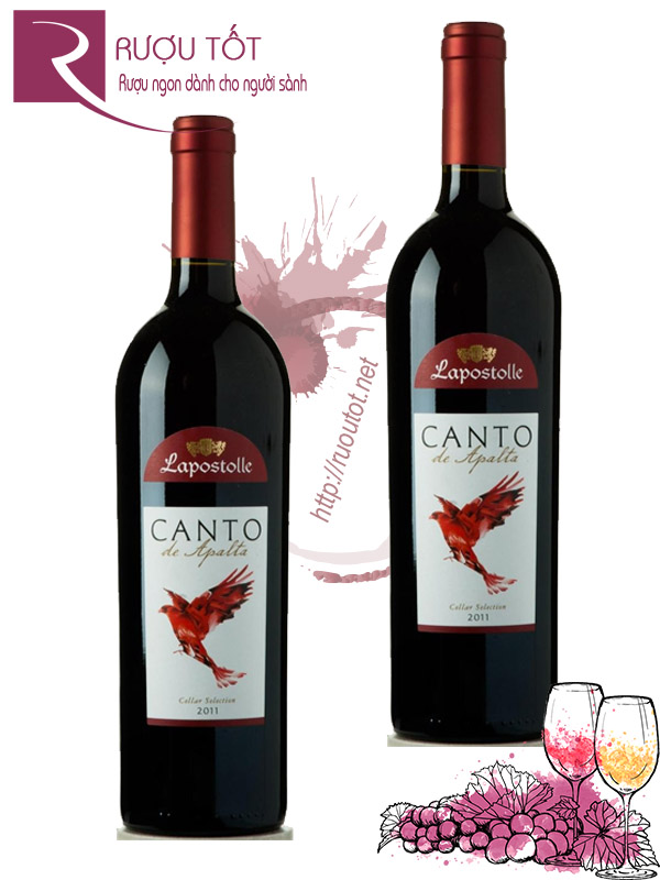 Vang Chile Lapostolle Canto de Apalta Thượng hạng