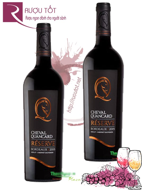 Vang Pháp Cheval Quancard Reserve Bordeaux Red Wine