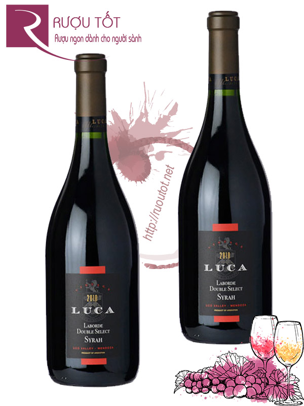 Rượu vang Luca Laborde Double Select Syrah Uco Valley Cao cấp