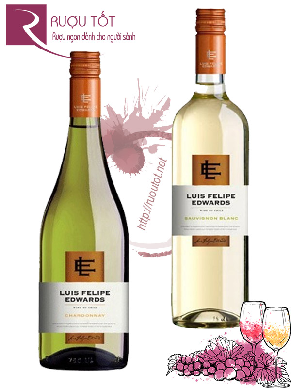 Vang Chile Luis Felipe Edwards Blanc Thượng hạng