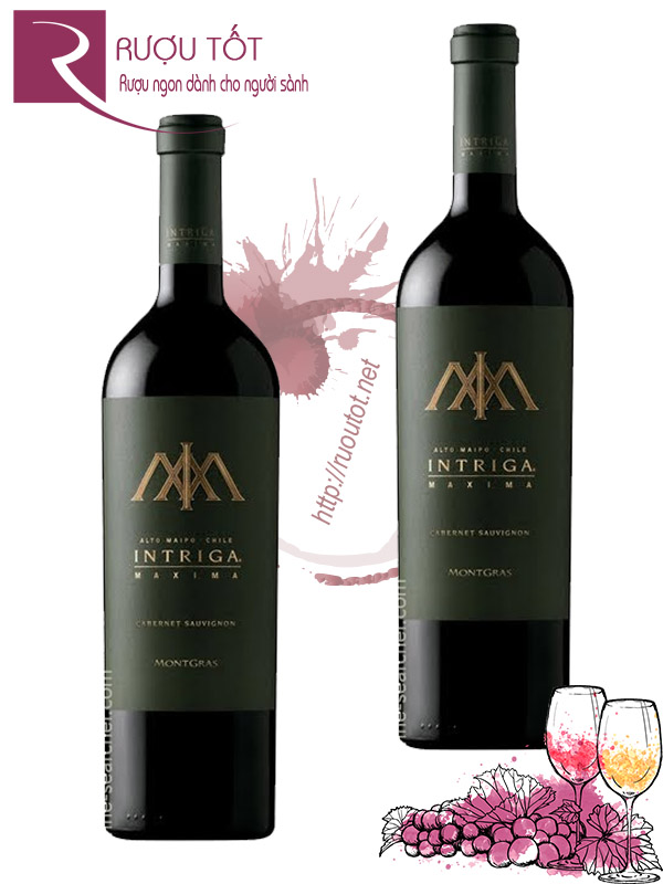 Vang Chile Intriga Maxima Cabernet sauvignon Thượng hạng
