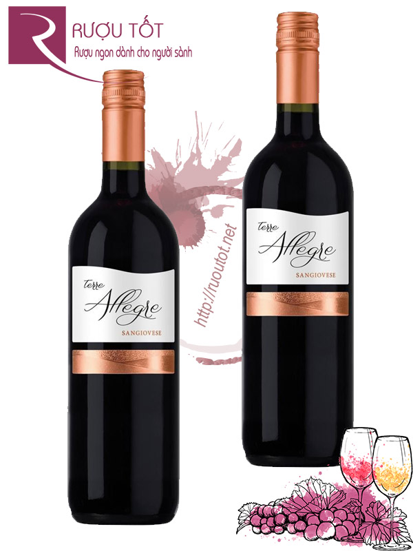 Vang Ý Terre Allegre Sangiovese Thượng hạng
