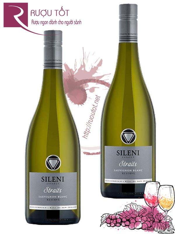 Vang New Zealand Sileni Estates Straits Sauvignon Blanc