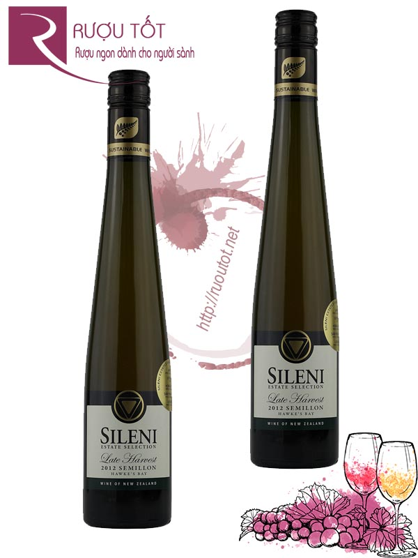 Vang New Zealand Sileni Estates Late Harvest Semillon