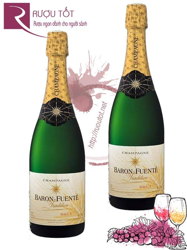 Rượu Champagne Baron Fuente Cuvee Tradition Brut
