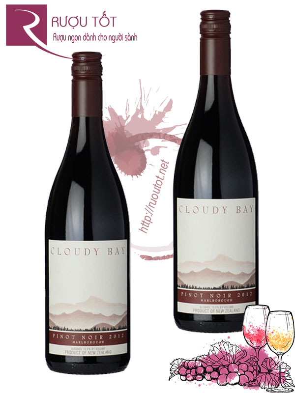Rượu vang Cloudy Bay Pinot Noir Marlborough