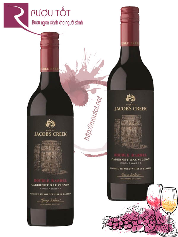 Rượu vang Jacob's Creek Double Barrel Cabernet Sauvignon