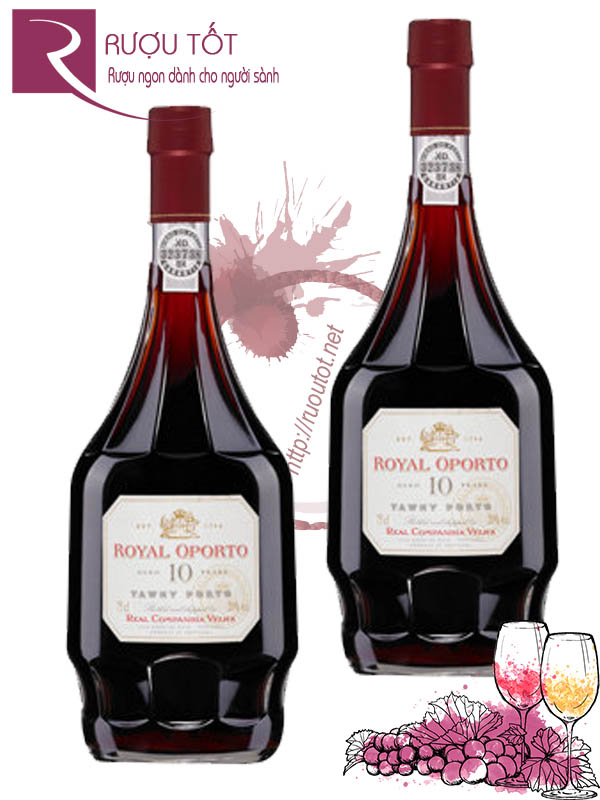 Rượu vang Royal Oporto 10 Years Tawny Porto