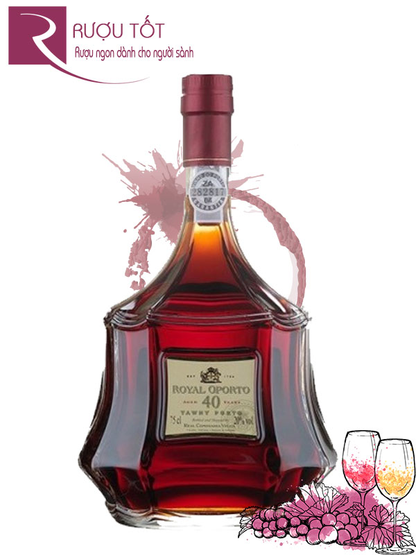 Rượu vang Royal Oporto 40 Years Tawny Porto