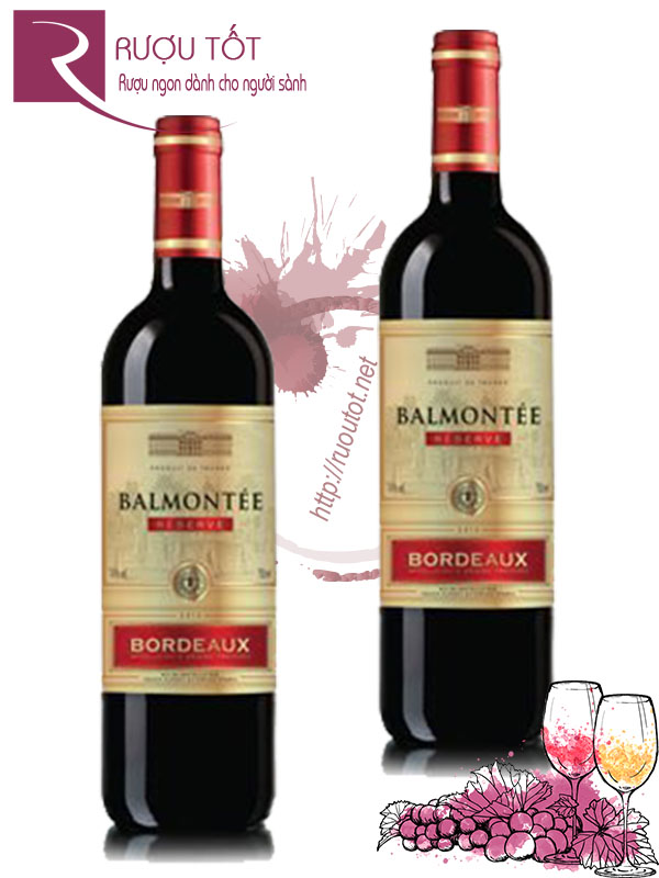 Rượu vang Balmontee Bordeaux Red Blend