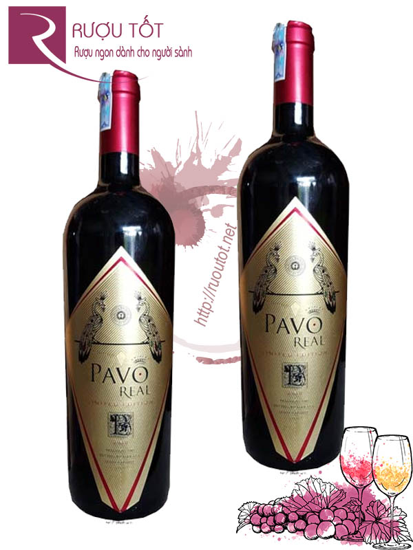 Vang Chile Pavo Real Limited Edition Cabernet Carmenere Thượng hạng