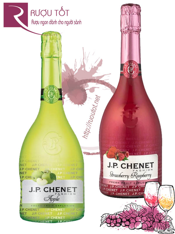 Rượu vang JP Chenet Fashion (Apple - Strawberry Raspberry)