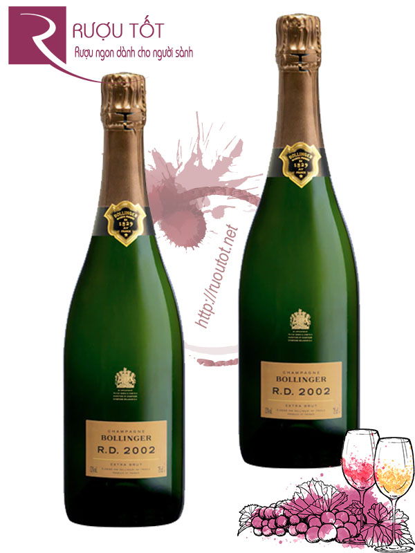 Champagne Pháp Bollinger RD Extra Brut Cao cấp