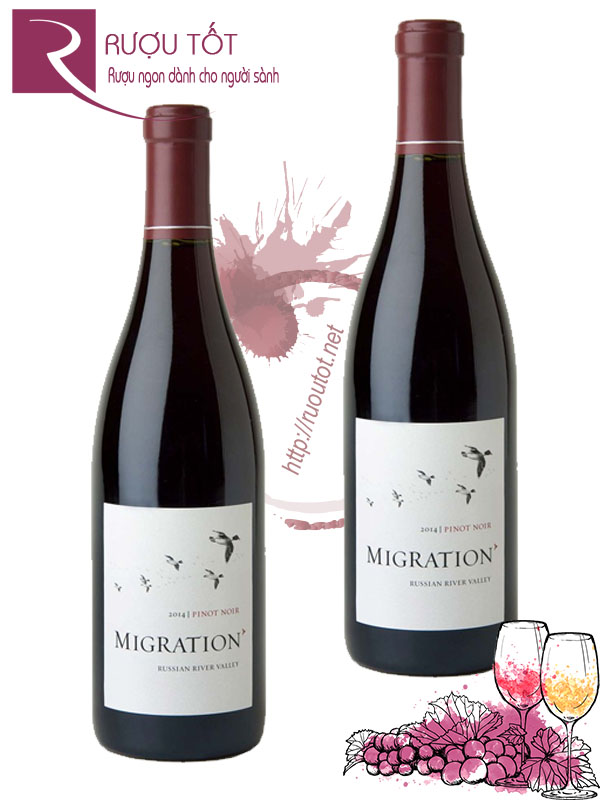 Vang Mỹ Migration Pinot Noir Russian River Valley