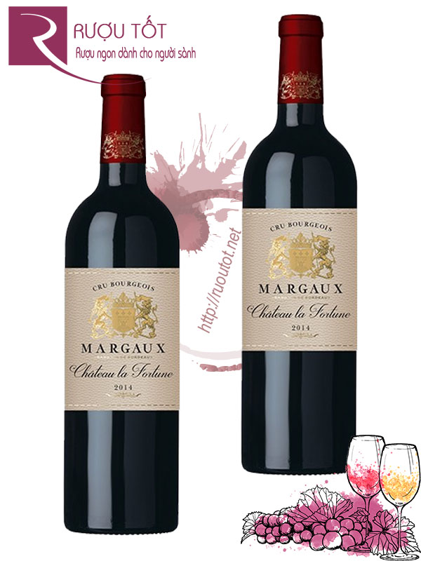 Vang Pháp Chateau La Fortune Margaux Cru Bourgeois Cao cấp