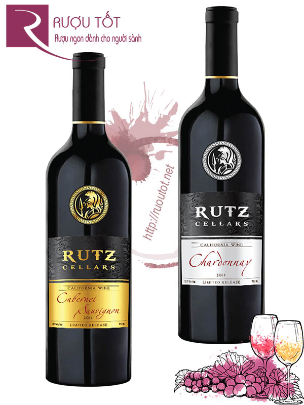 Vang Mỹ Rutz Cellars Limited Release (Red - White)