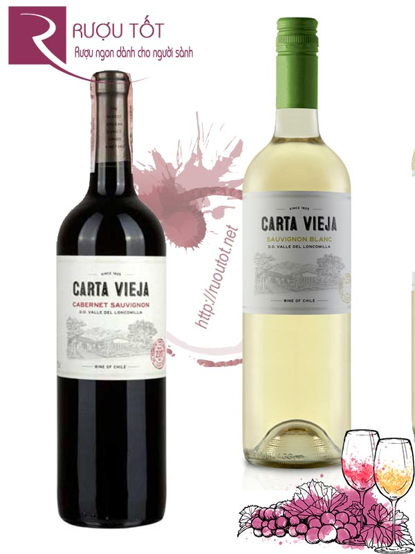 Vang Chile Carta Vieja (Red – White)