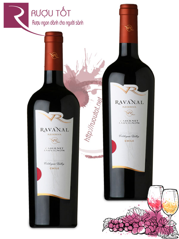 Vang Chile Ravanal Reserva Cabernet Sauvignon Thượng hạng