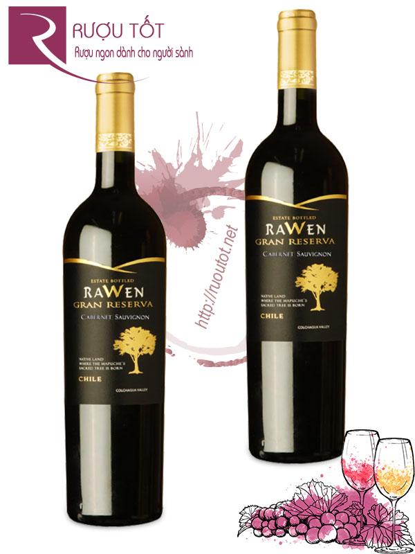 Vang Chile Rawen Gran Reserva Cabernet Sauvignon