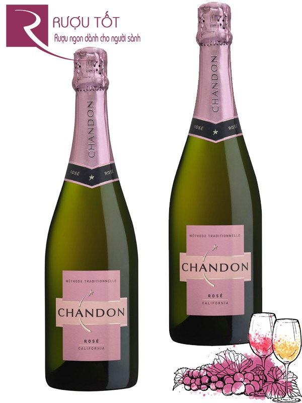 Rượu vang Domaine Chandon Sparkling Rose
