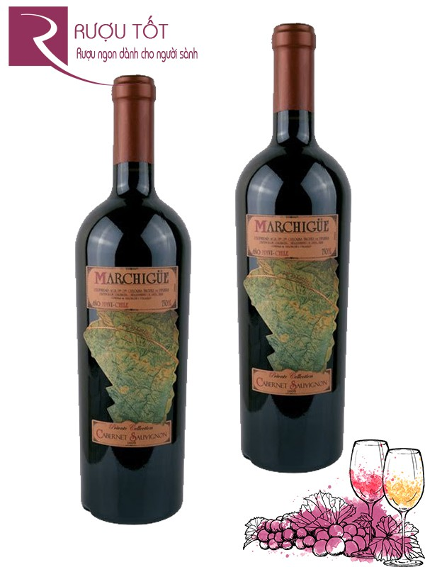 Vang Chile Marchigue Cabernet Sauvignon 2011