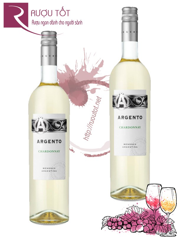 Vang Argentina Argento Chardonnay Uco Valley
