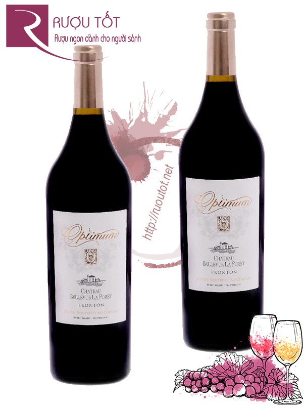 Vang Pháp Optimum Chateau Bellevue La Foret 750ml - 1,5L