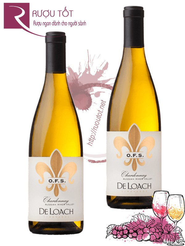 Vang Mỹ DeLoach Chardonnay OFS Tier