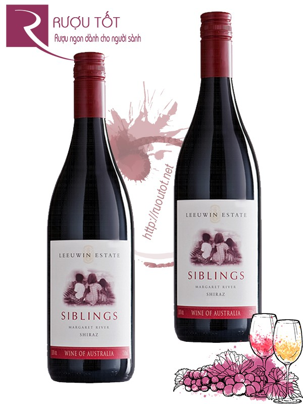 Rượu Vang Siblings Shiraz Leeuwin Estate