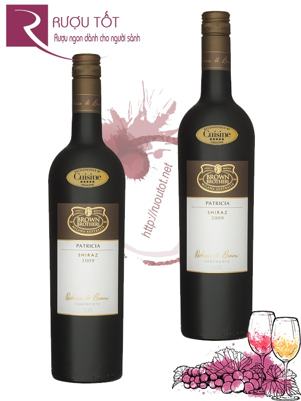 Rượu Vang Brown Brothers Patricia Shiraz